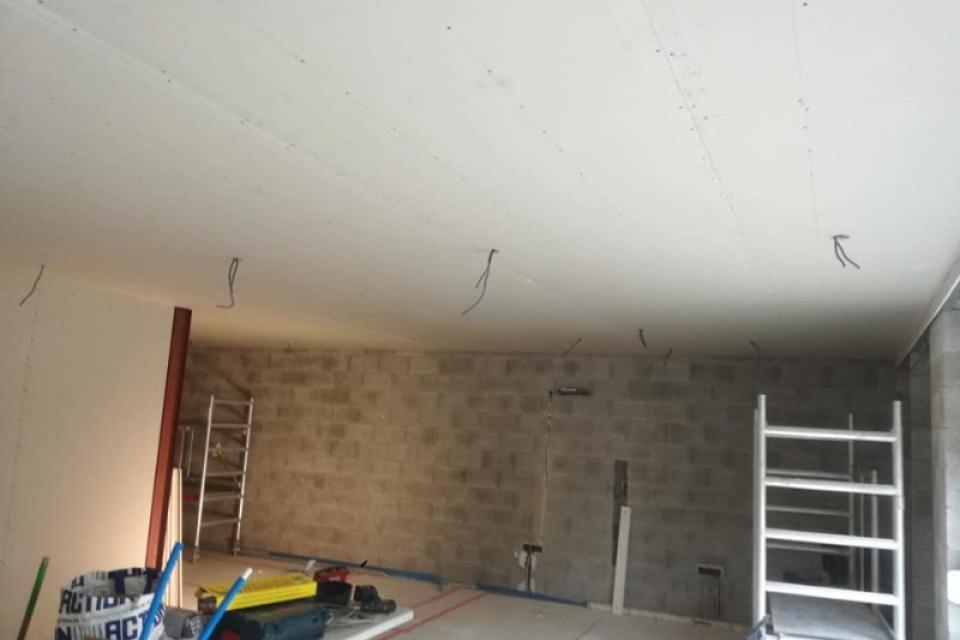 Rénovation complète du rez-de-chaussée (cuisine-salon-salle à manger)